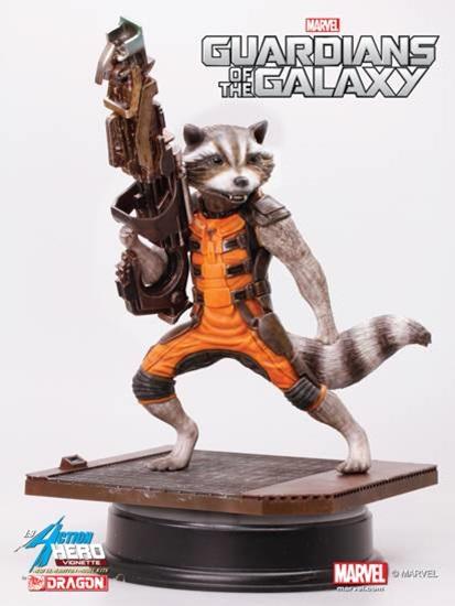 statuette les gardiens de la galaxie rocket raccoon 18 cm figurines comics les gardiens de la. Black Bedroom Furniture Sets. Home Design Ideas