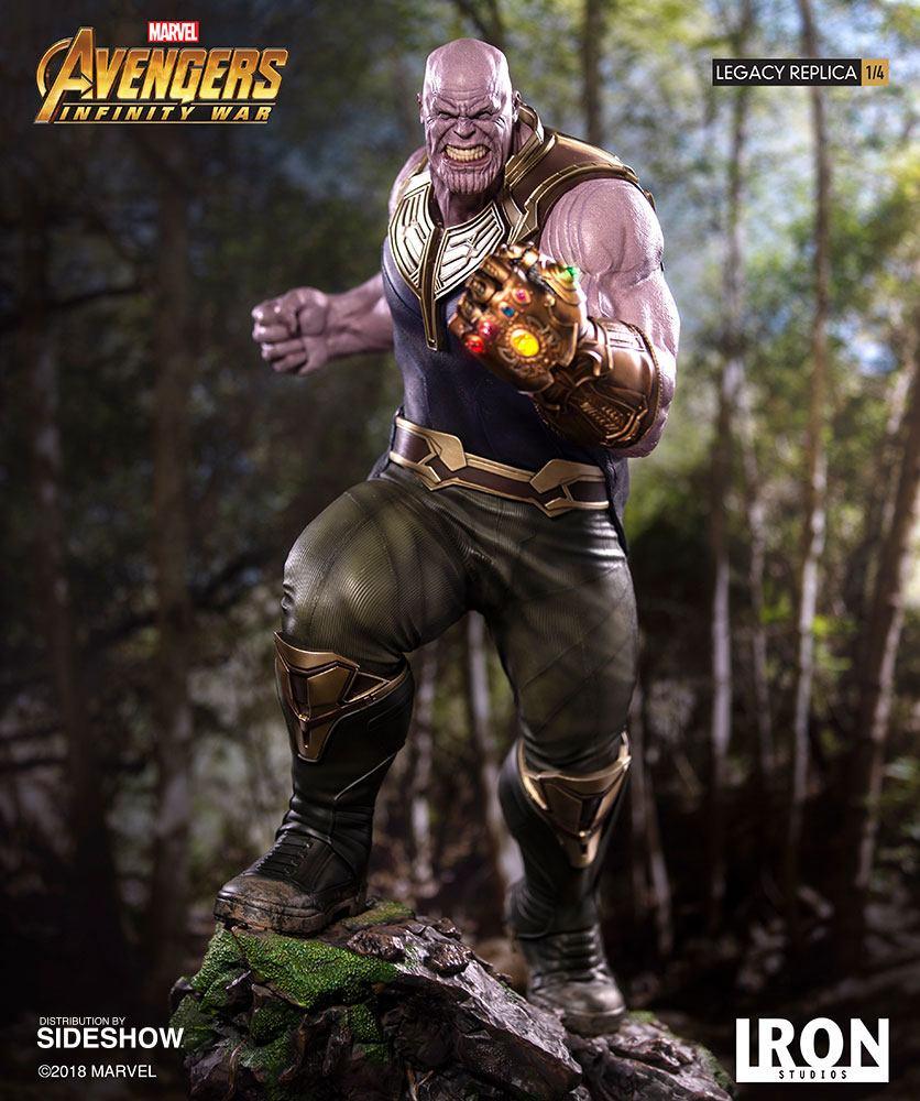 Statue Avengers Infinity War Legacy Replica Thanos 72cm 1001 Figurines