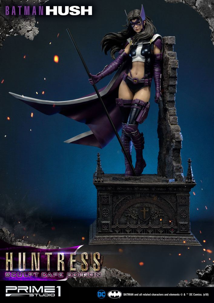Statue Batman Hush Huntress Sculpt Cape Edition 82cm 1001 Figurines