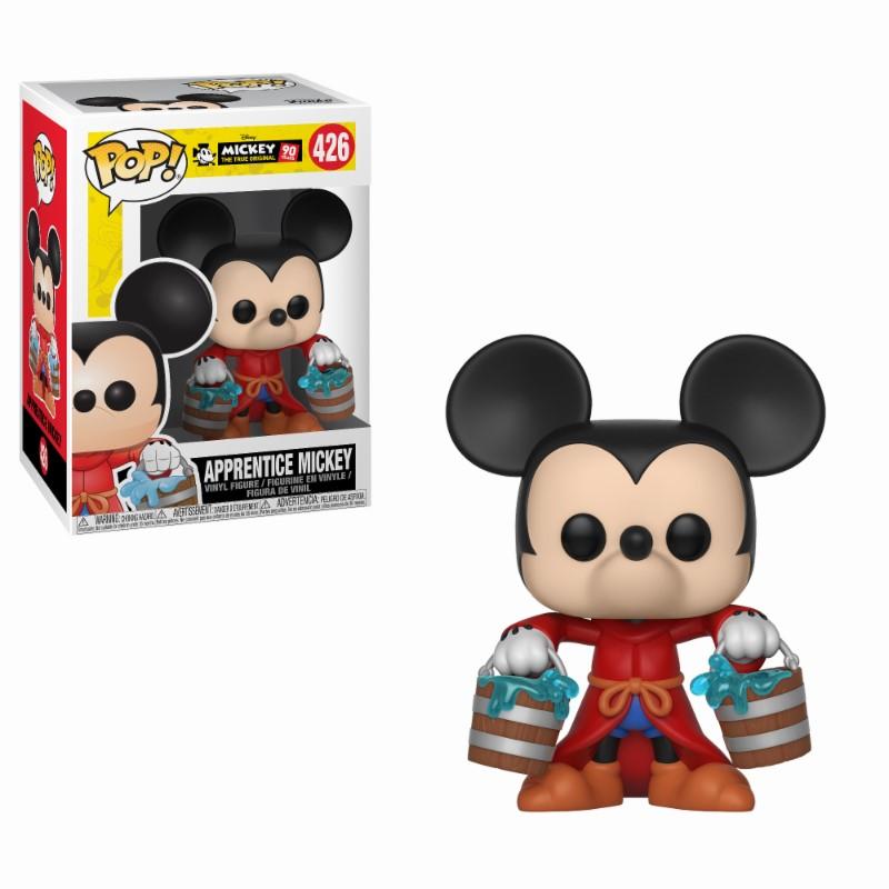 Figurine Mickey Maus 90th Anniversary Funko POP! Disney Apprentice Mickey 9cm 1001 FIGURINES