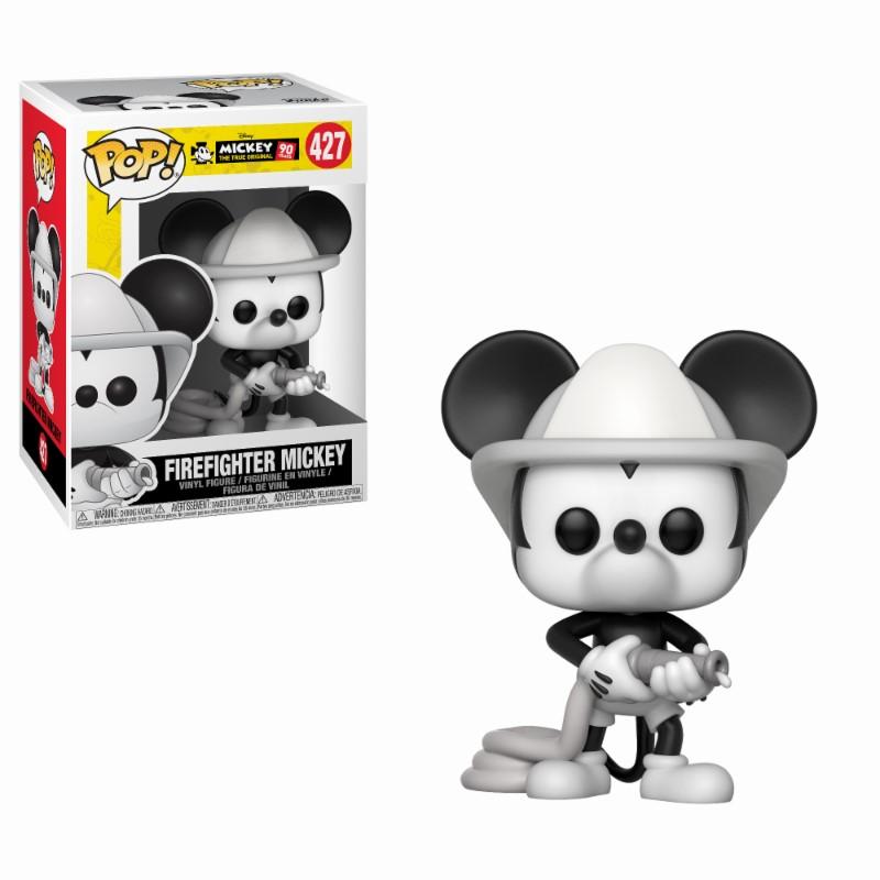 Figurine Mickey Maus 90th Anniversary Funko POP! Disney Firefighter Mickey 9cm 1001 fIGURINES