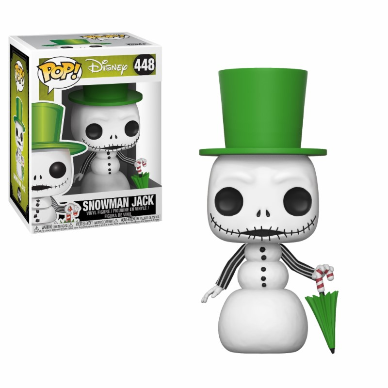 Figurine L´étrange Noël de Mr. Jack Funko POP! Snowman Jack 9cm 1001 Figurines