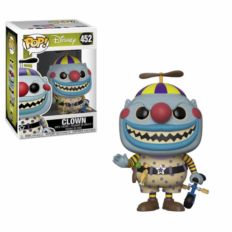 Figurine L´étrange Noël de Mr. Jack Funko POP! Clown 9cm 1001 Figurines