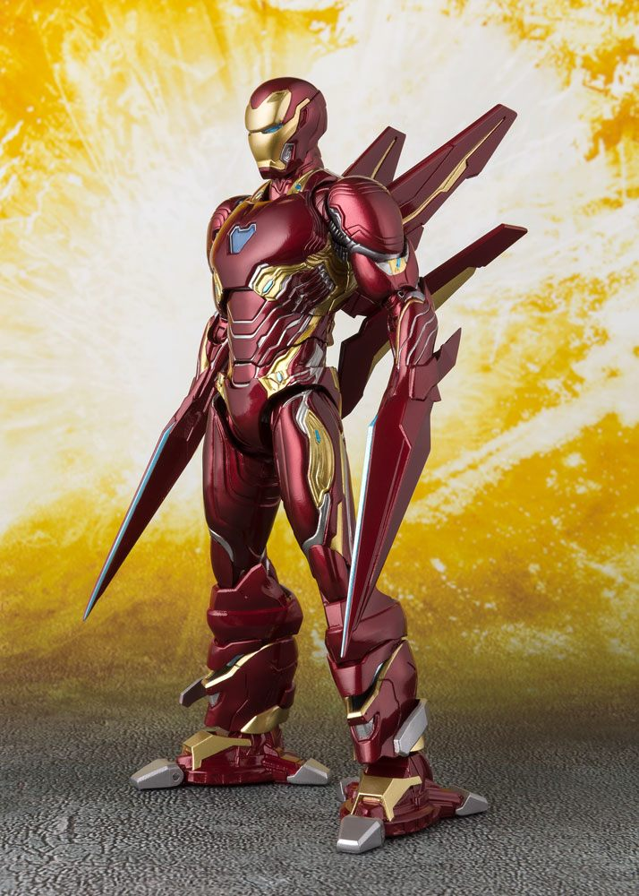 Figurine Avengers Infinity War S.H. Figuarts Iron Man MK50 Nano Weapons 16cm 1001 Figurines