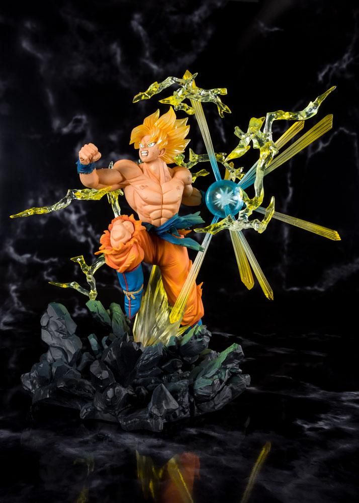 Statuette Dragon Ball Z Figuarts ZERO Super Saiyan Son Goku 20cm 1001 Figurines