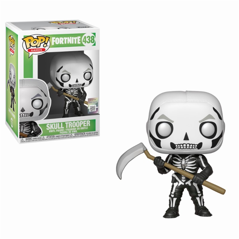 Figurine Fortnite Funko POP! Skull Trooper 9cm 1001 Figurines