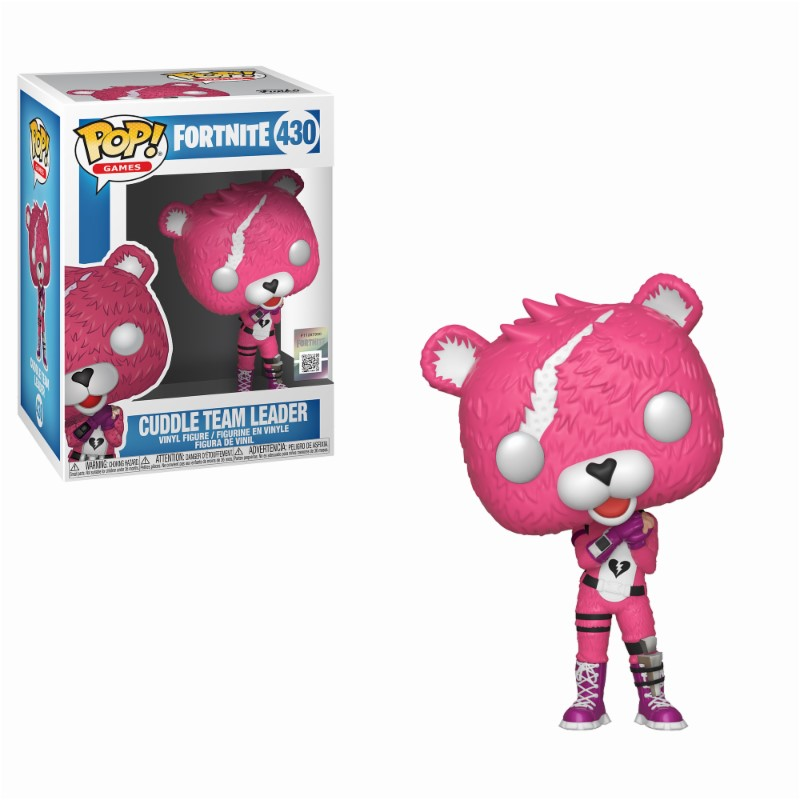 Figurine Fortnite Funko POP! Cuddle Team Leader 9cm 1001 Figurines