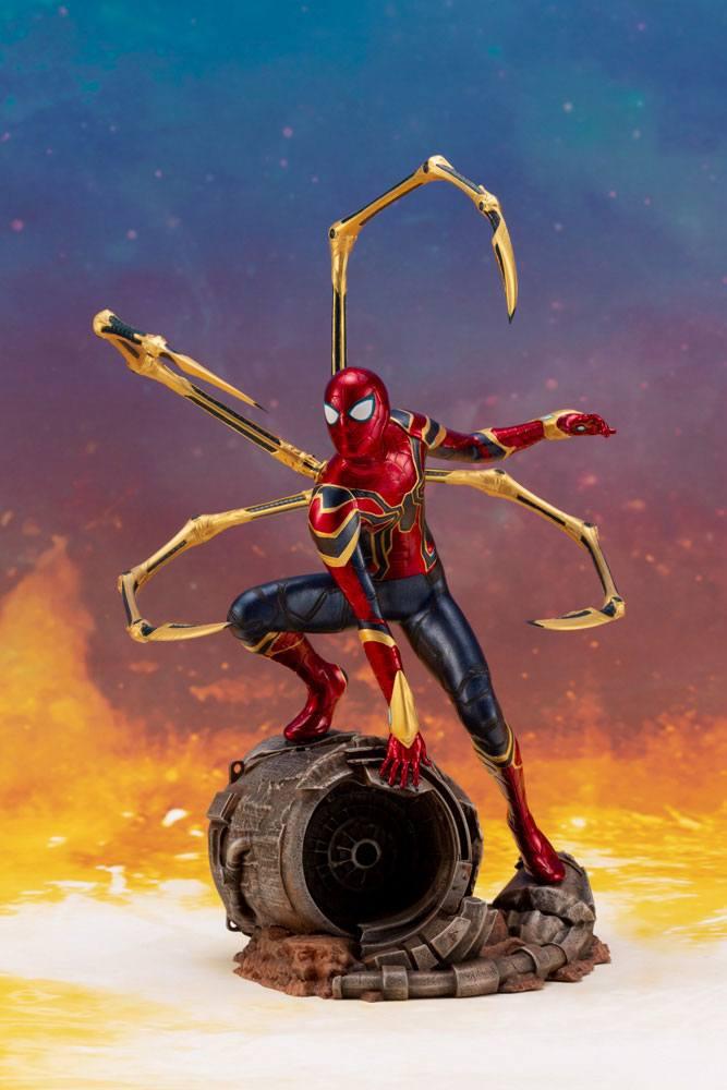 Statuette Avengers Infinity War ARTFX+ Iron Spider 28cm 1001 Figurines