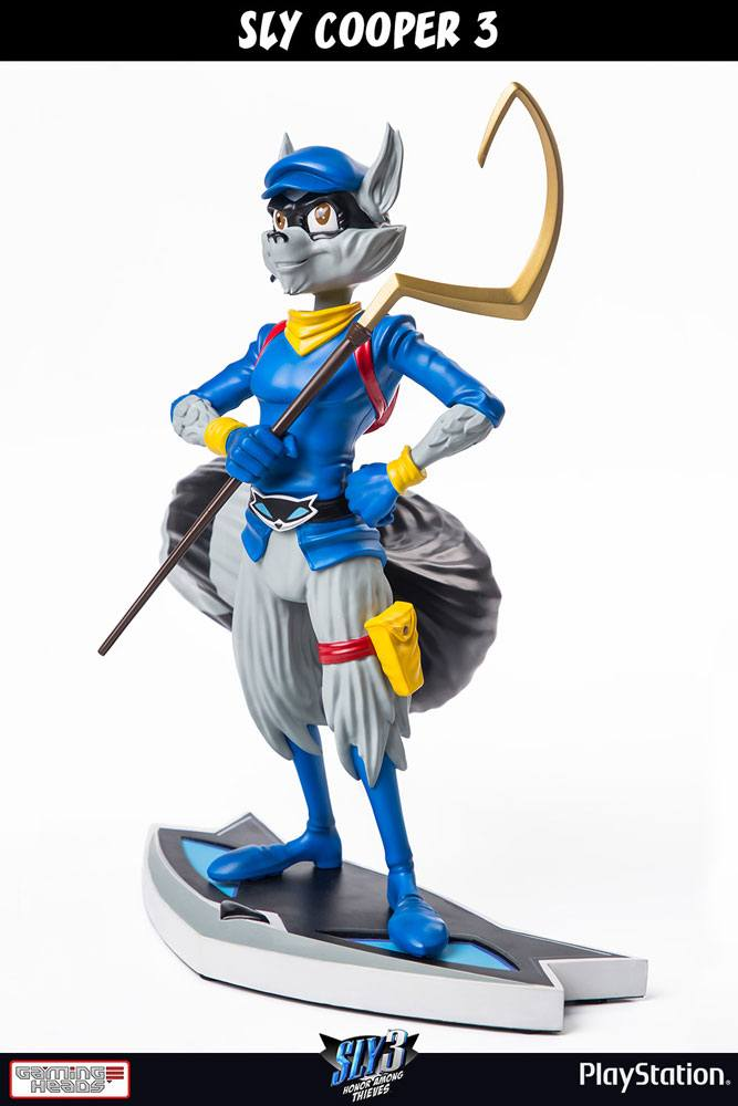 Statuette Sly Cooper 3 - Sly Cooper Classic 41cm 1001 figurines
