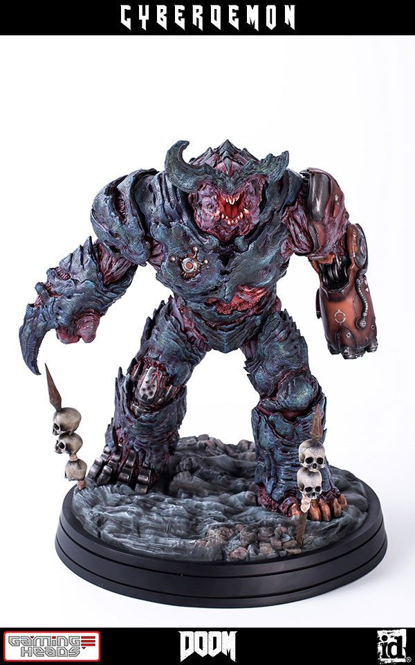 Statue Doom Cyberdemon 48cm 1001 Figurines