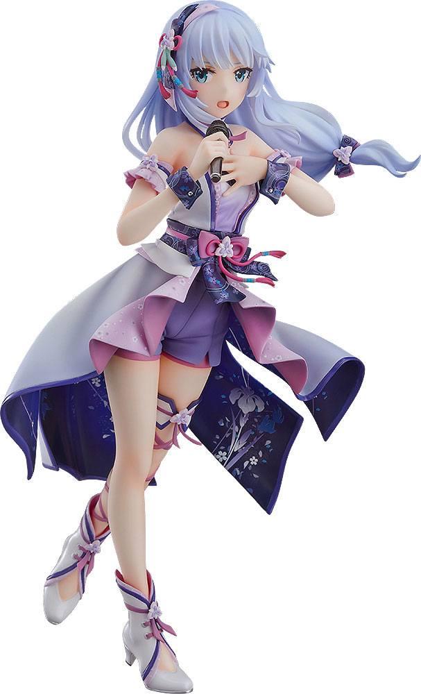 Statuette Idolmaster Million Live! Tsumugi Shiraishi Fumidashita Yume e no Ippo Ver. 20cm 1001 Figurines