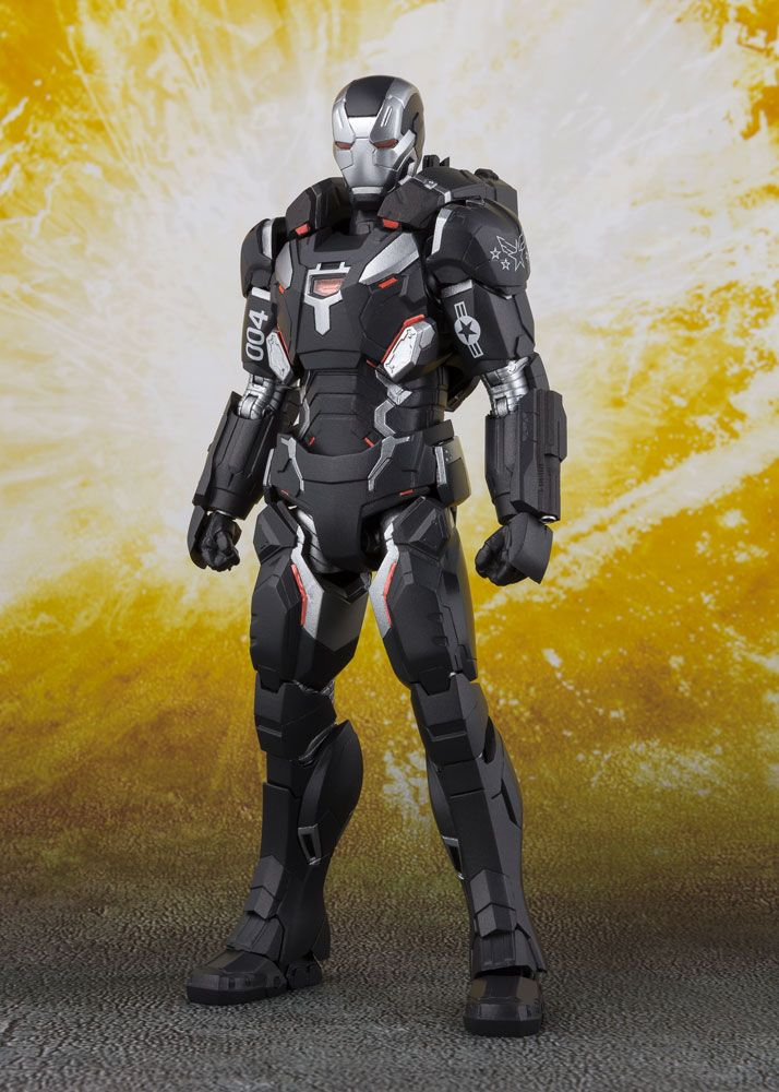 Figurine Avengers Infinity War S.H. Figuarts War Machine Mark IV 16cm 1001 Figurines