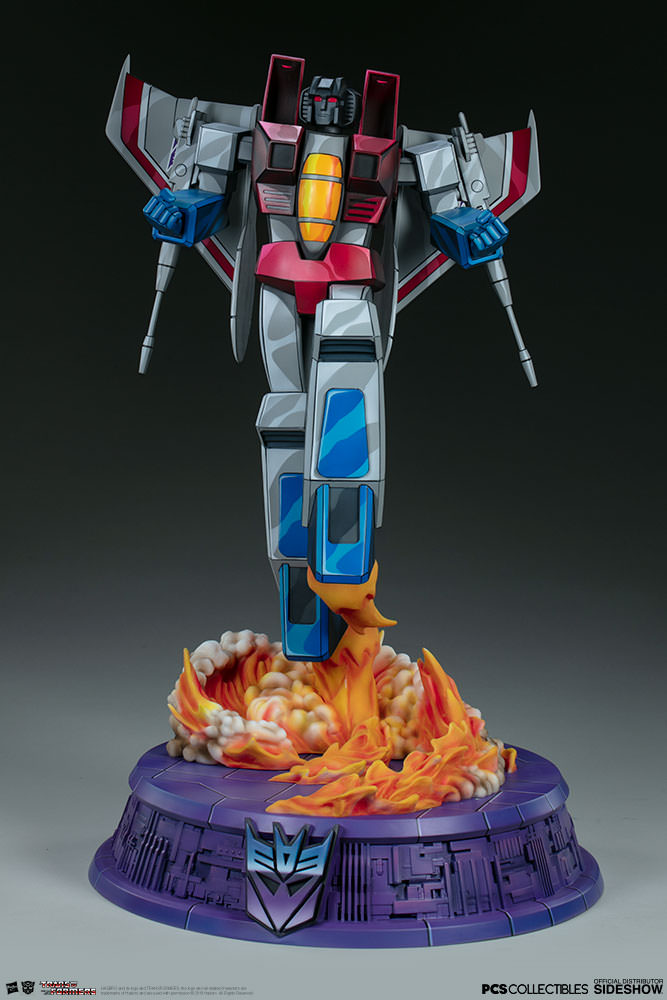 Statue Transformers Museum Scale Starscream G1 67cm 1001 Figurines