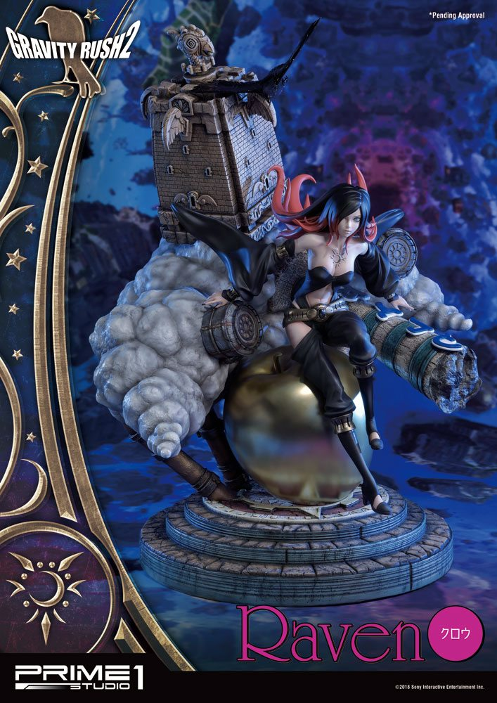 Statue Gravity Rush 2 Raven 54cm 1001 Figurines