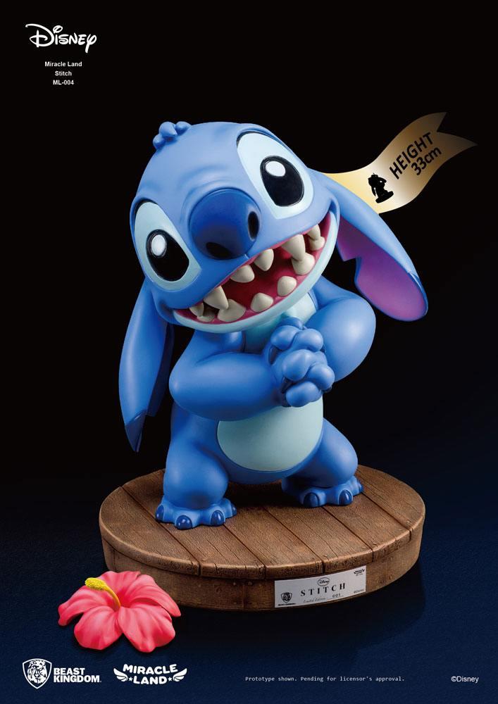 Statuette Disney Miracle Land Stitch 33cm 1001 Figurines