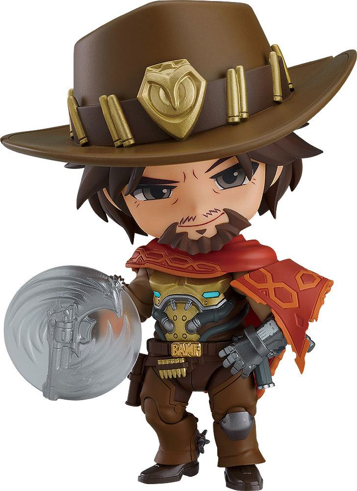 Figurine Nendoroid Overwatch Mccree 10cm 1001 Figurines