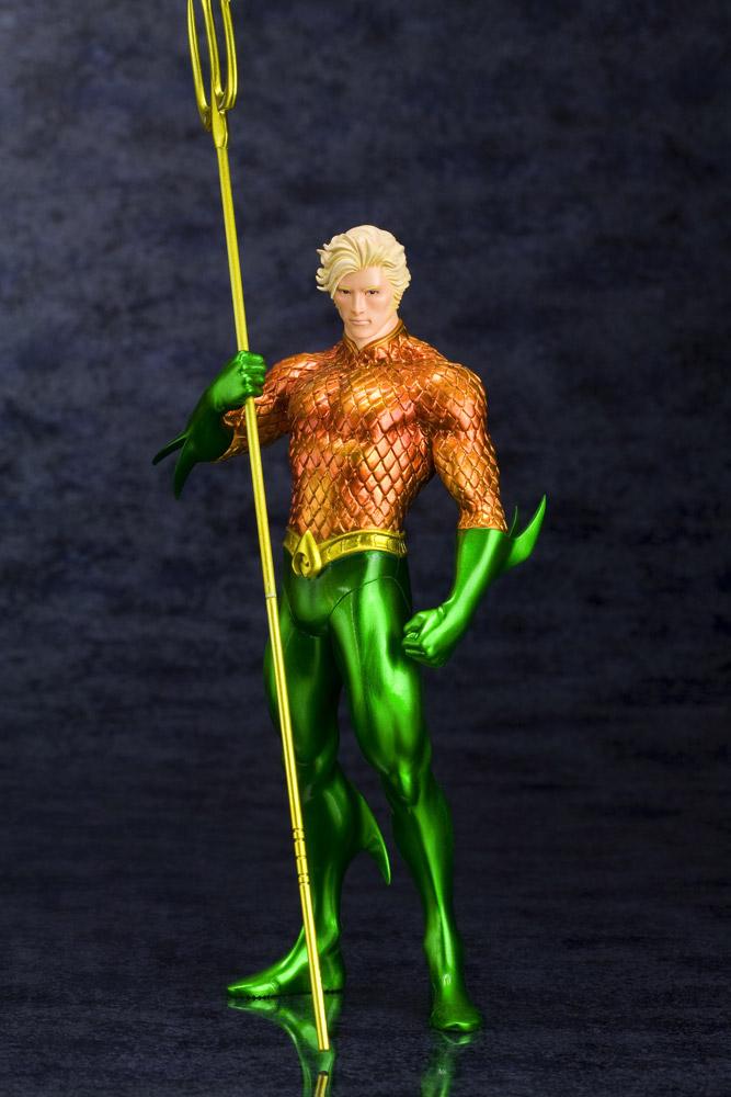 Statuette Aquaman DC Comics 19 cm 1001 Figurines 2