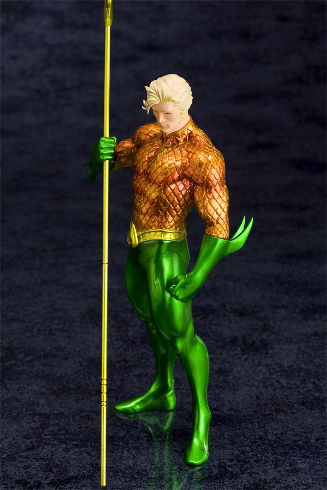 Statuette Aquaman DC Comics 19 cm 1001 Figurines 5