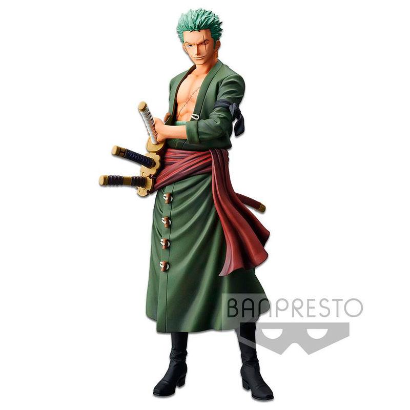 Statuette One Piece Grandista The Grandline Men Zoro 28cm 1001 figurines