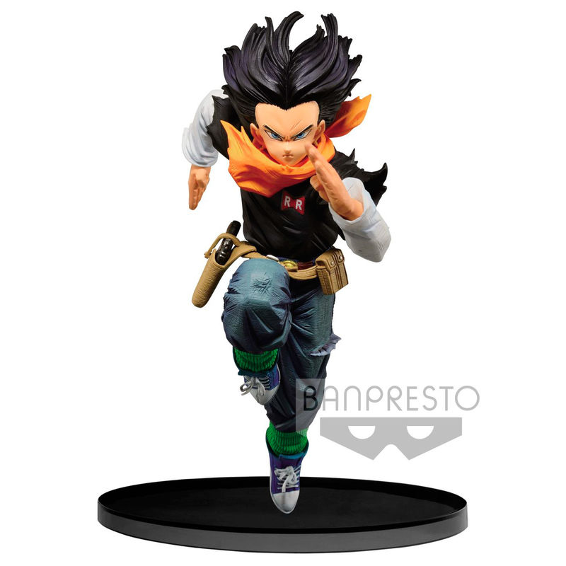 Statuette Dragon Ball Z BWFC Android 17 Normal Color Ver. 17cm 1001 Figurines
