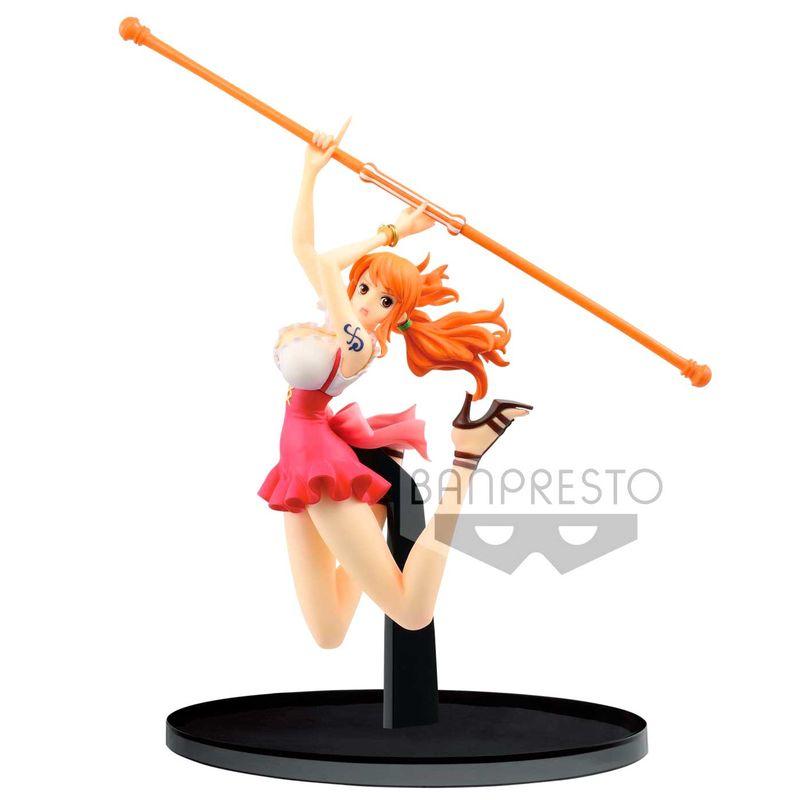 Statuette One Piece BWFC Nami Normal Color Ver. 13cm 1001 Figurines
