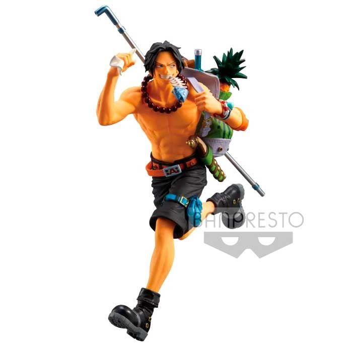 Statuette One Piece Portgas D. Ace 13cm 1001 Figurines