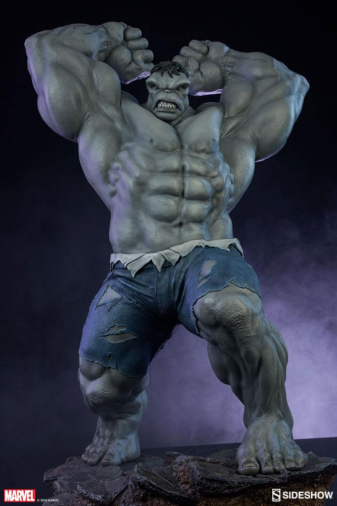 Statue Avengers Assemble Grey Hulk Sideshow Exclusive 61cm 1001 Figurines