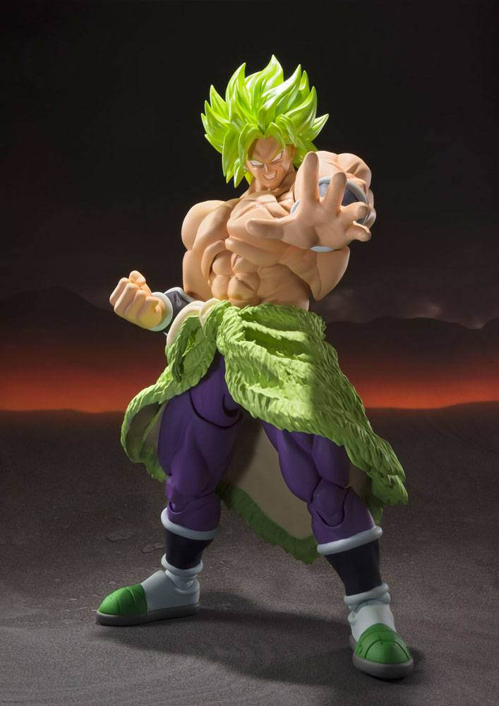 Figurine Dragon Ball Super Broly S.H. Figuarts Super Saiyan Broly Fullpower 22cm 1001 Figurines