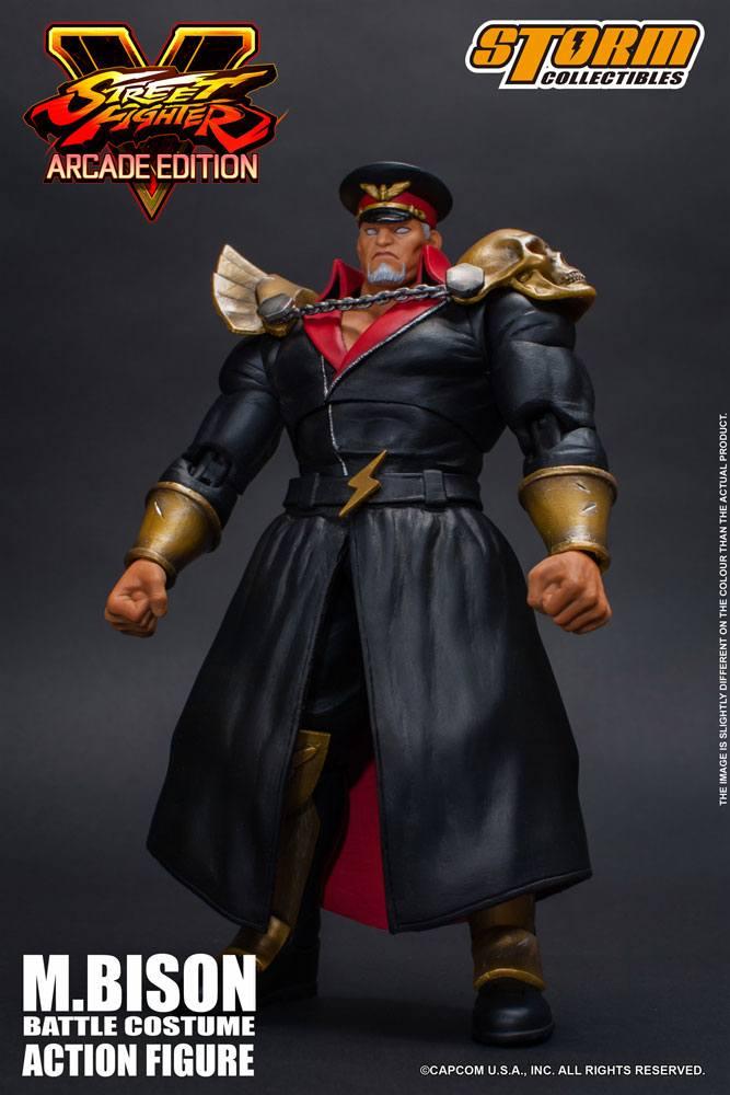 Figurine Street Fighter V Arcade Edition M. Bison Battle Costume 18cm  1001 Figurines
