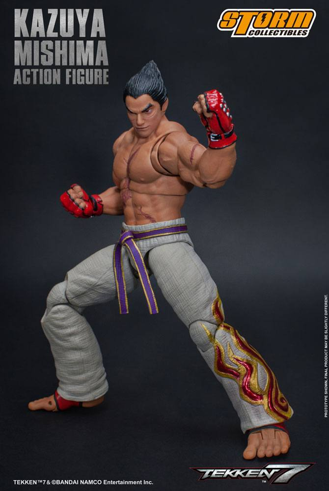Figurine Tekken 7 Kazuya Mishima 17cm 1001 Figurines