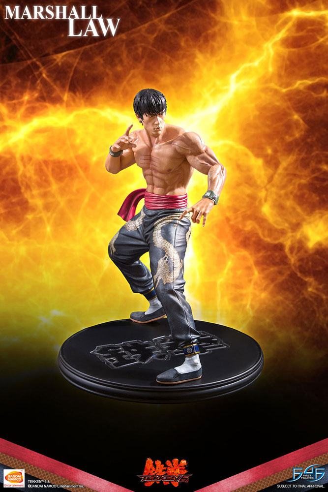 Statuette Tekken 6 Marshall Law 43cm 1001 Figurines