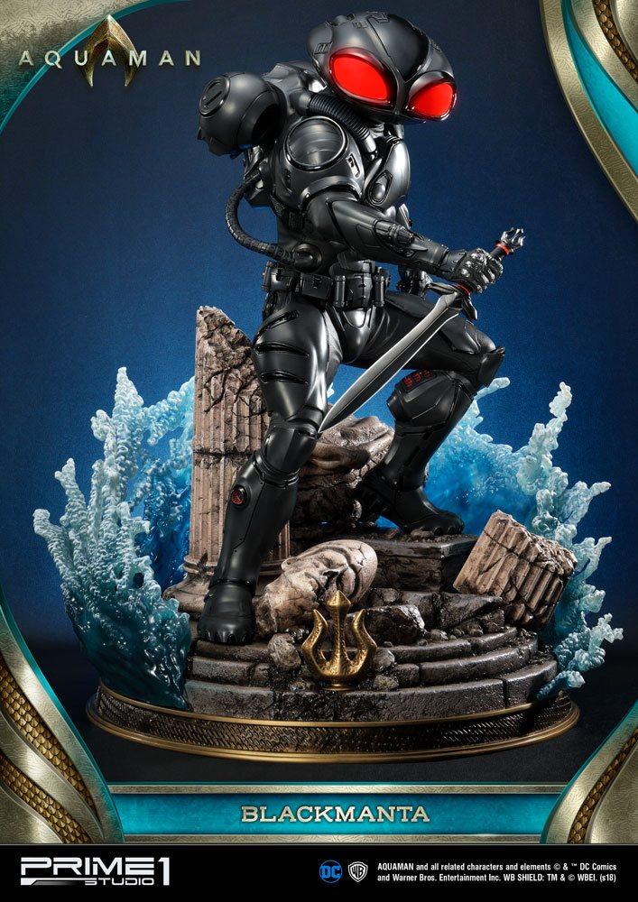 Statue Aquaman Black Manta 66cm 1001 Figurines