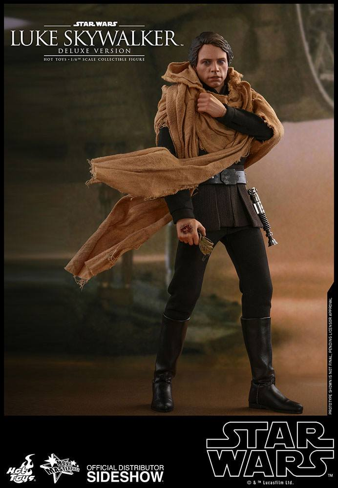 Figurine Star Wars Episode VI Movie Masterpiece Luke Skywalker Endor Deluxe Ver. 28cm 1001 Figurines