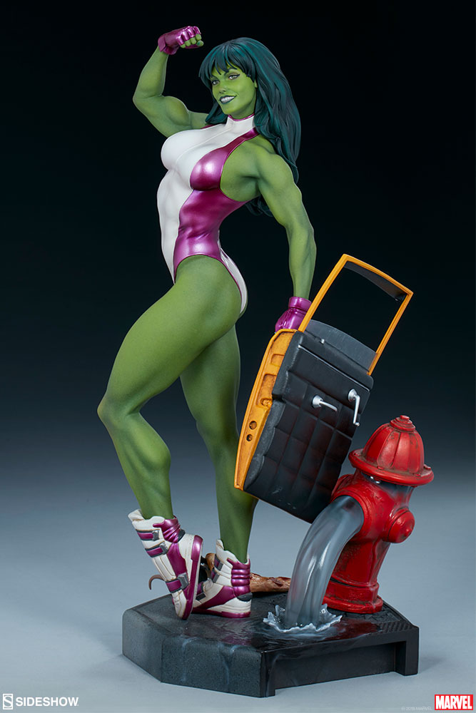 Statuette Marvel Comics Adi Granov Artist Series She-Hulk 44cm 1001 Figurines