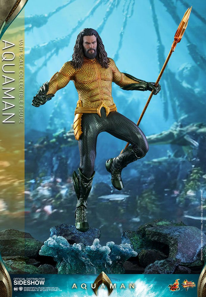 Figurine Aquaman Movie Masterpiece Aquaman 33cm 1001 Figurines