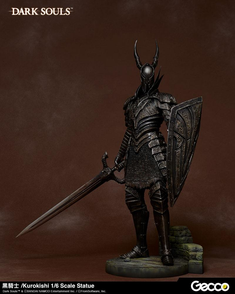 Statuette Dark Souls Kurokishi The Black Knight 41cm 1001 Figurines