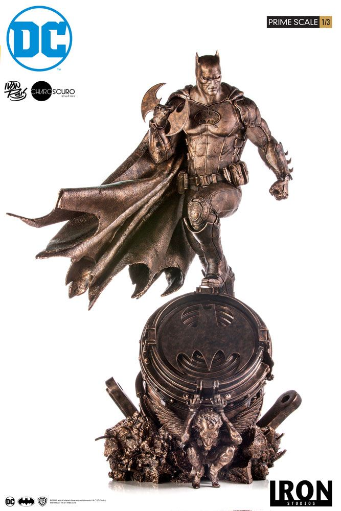 Statuette DC Comics Prime Scale Batman Bronze Edition 89cm 1001 Figurines