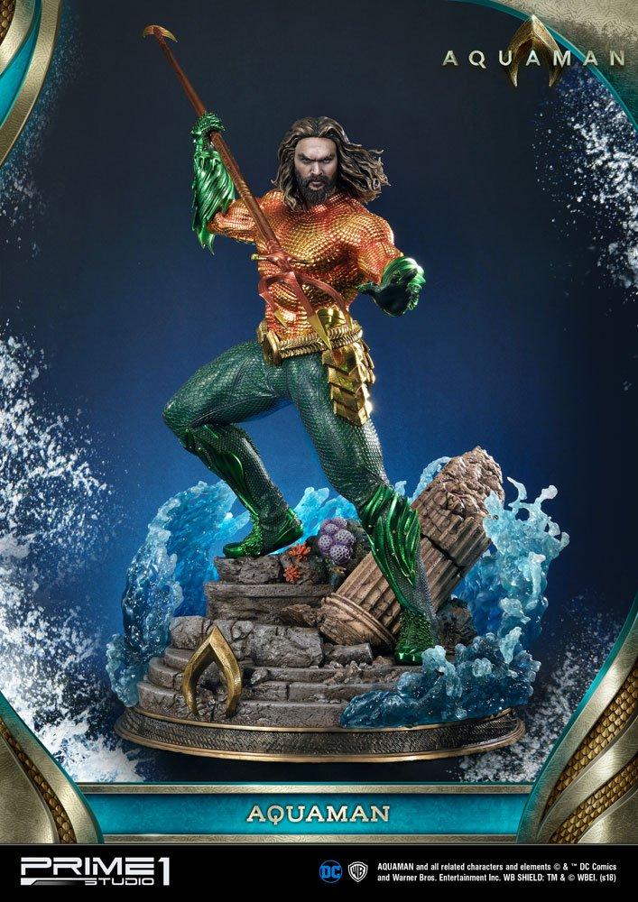 Statue Aquaman 88cm 1001 fIGURINES