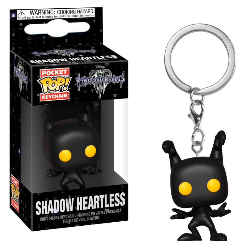Porte-clés Kingdom Hearts 3 Pocket POP! Shadow Heartless 4cm 1001 Figurines
