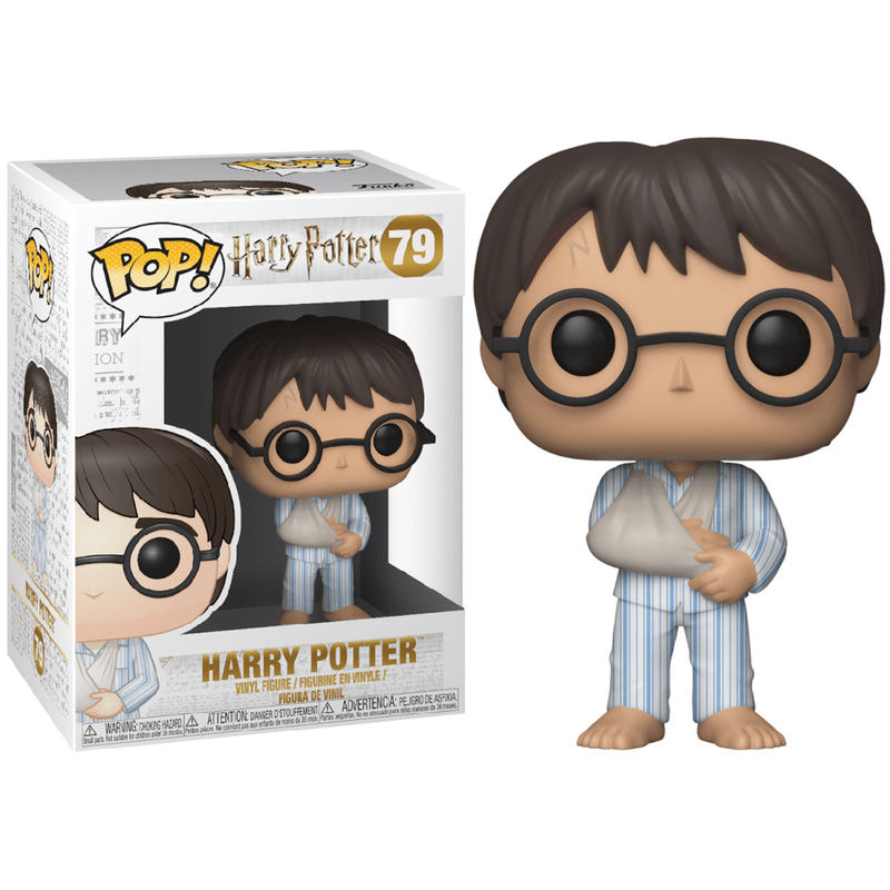 Calendrier De Lavent Harry Potter Funko Pop.Figurine Harry Potter Funko Pop Harry Potter In Pyjamas 9cm