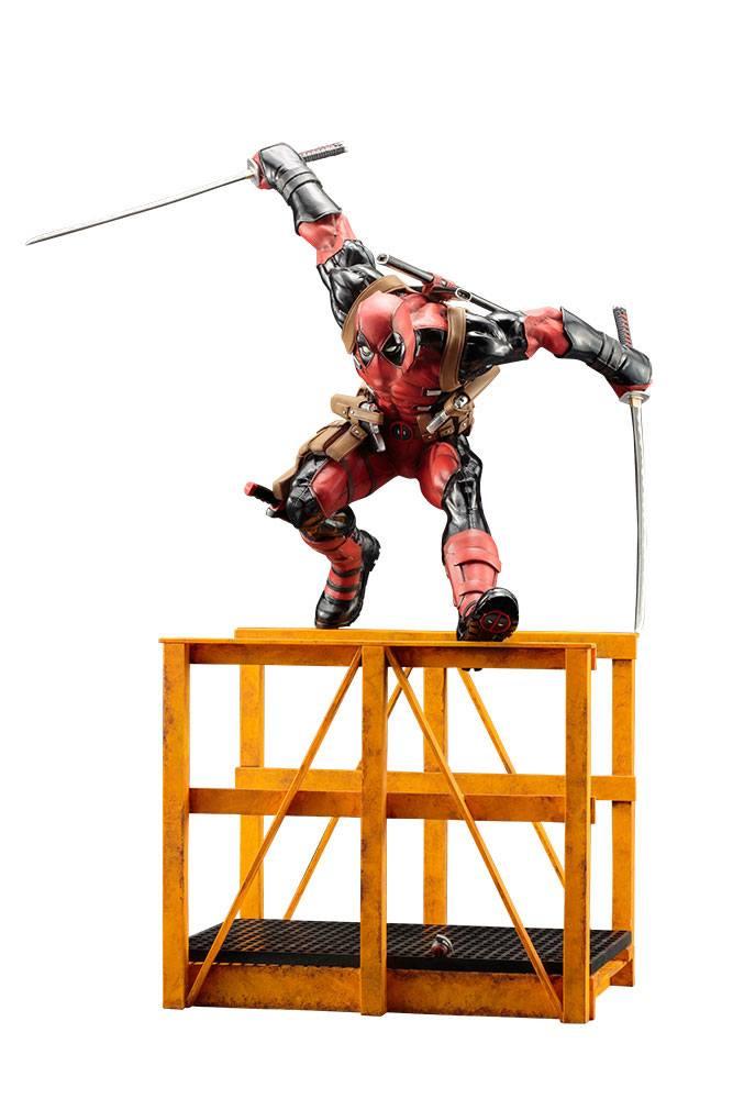 Statuette Marvel Now ARTFX Super Deadpool 43cm 1001 Figurines