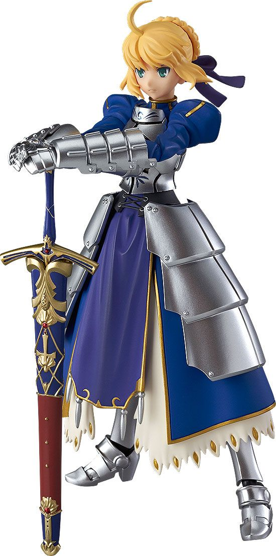 Figurine Figma Fate Stay Night Saber 2.0 - 14cm 1001 Figurines