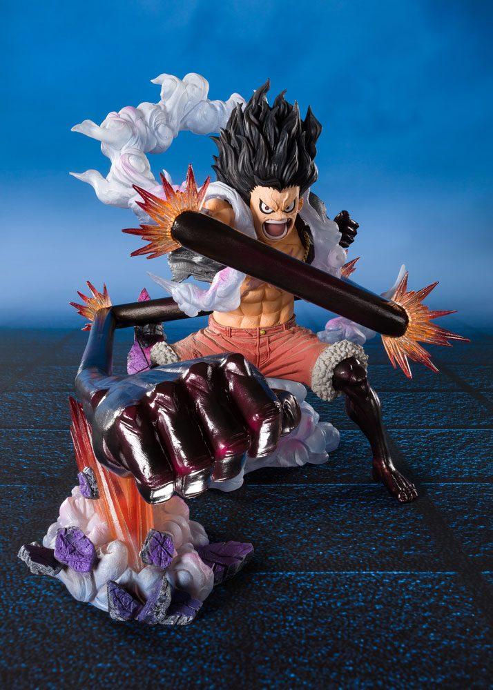 Statuette One Piece Figuarts ZERO Monkey D. Luffy Gear 4 Snakeman King Cobra 16cm 1001 Figurines