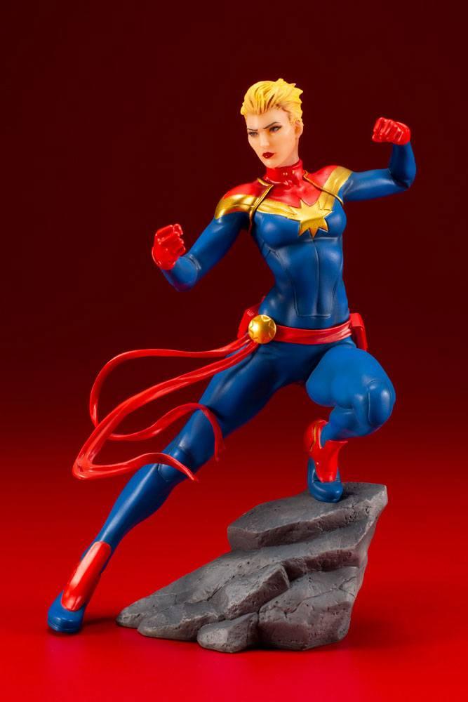 Statuette Marvel Universe Avengers Series ARTFX+ Captain Marvel 17cm 1001 Figurines