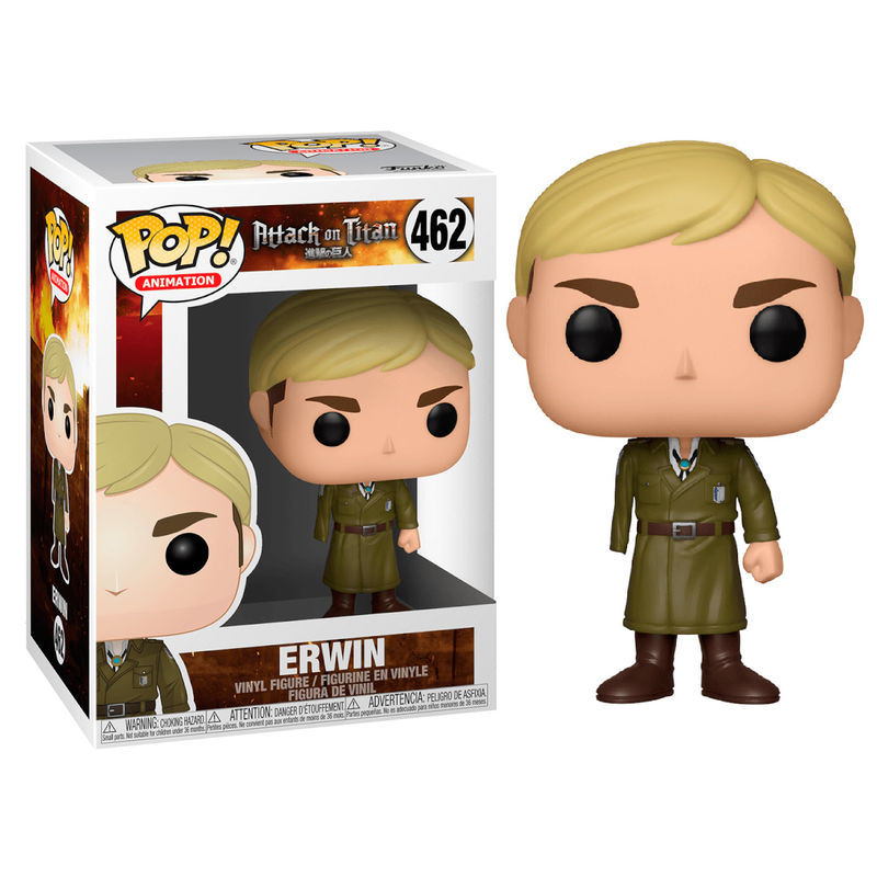 Figurine Attack on Titan Funko POP! Erwin One-Armed 9cm 1001 Figurines