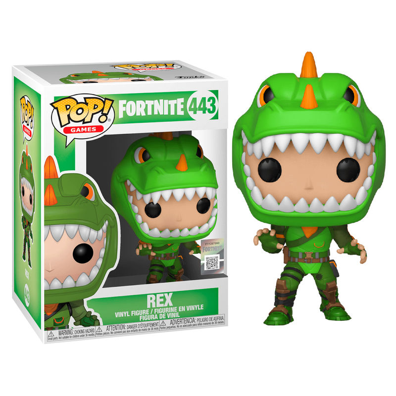 Figurine Fortnite Funko POP! Rex 9cm 1001 Figurines