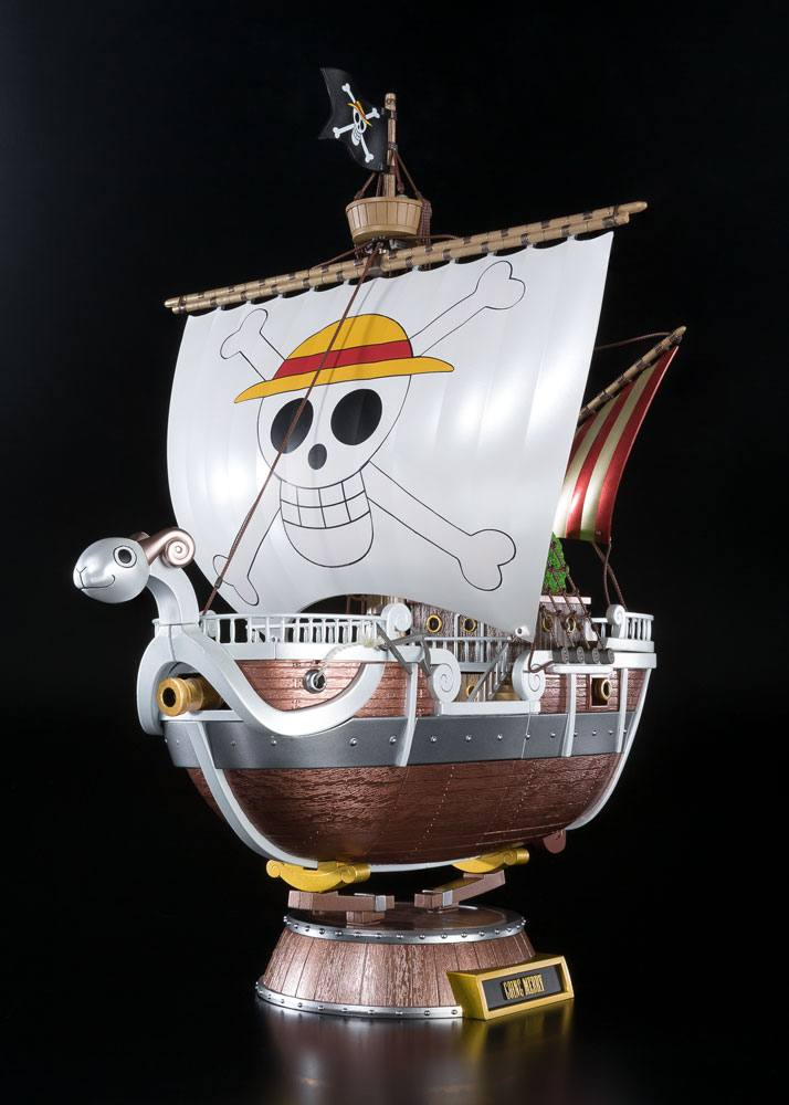 Réplique One Piece Diecast Chogokin Going Merry 20th Memorial Edition 28cm 1001 Figurines