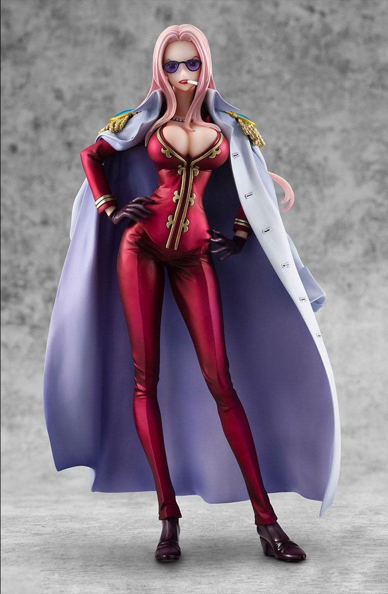 Statuette One Piece Excellent Model P.O.P. Hina Limited Edition 21cm 1001 Figurines