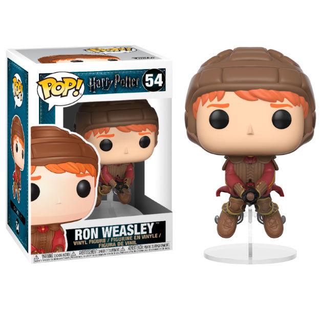 Figurine Harry Potter Funko POP! Ron on Broom 9cm 1001 Figurines
