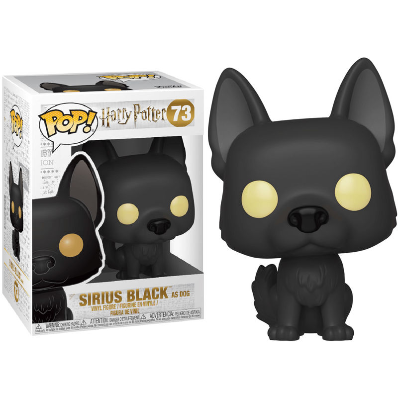 Figurine Harry Potter Funko POP! Sirius as Dog 9cm 1001 figurines